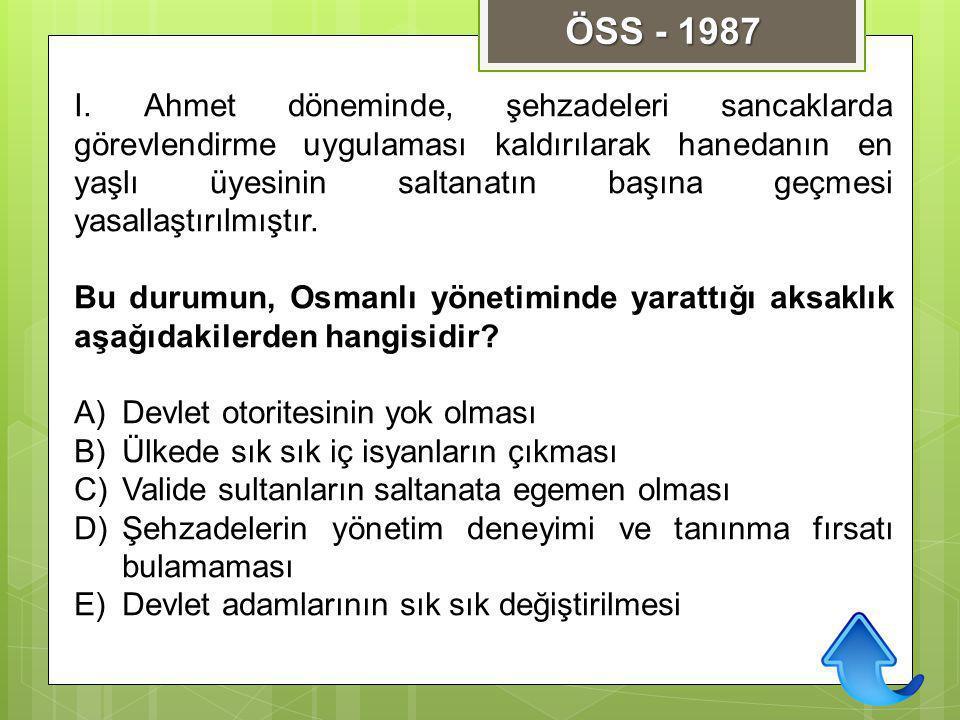 ÖSS - 1987