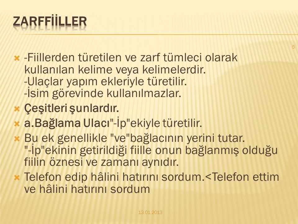 ZARFFİİLLER