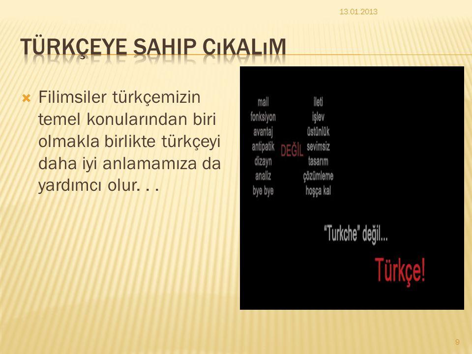 Türkçeye sahip cıkalım