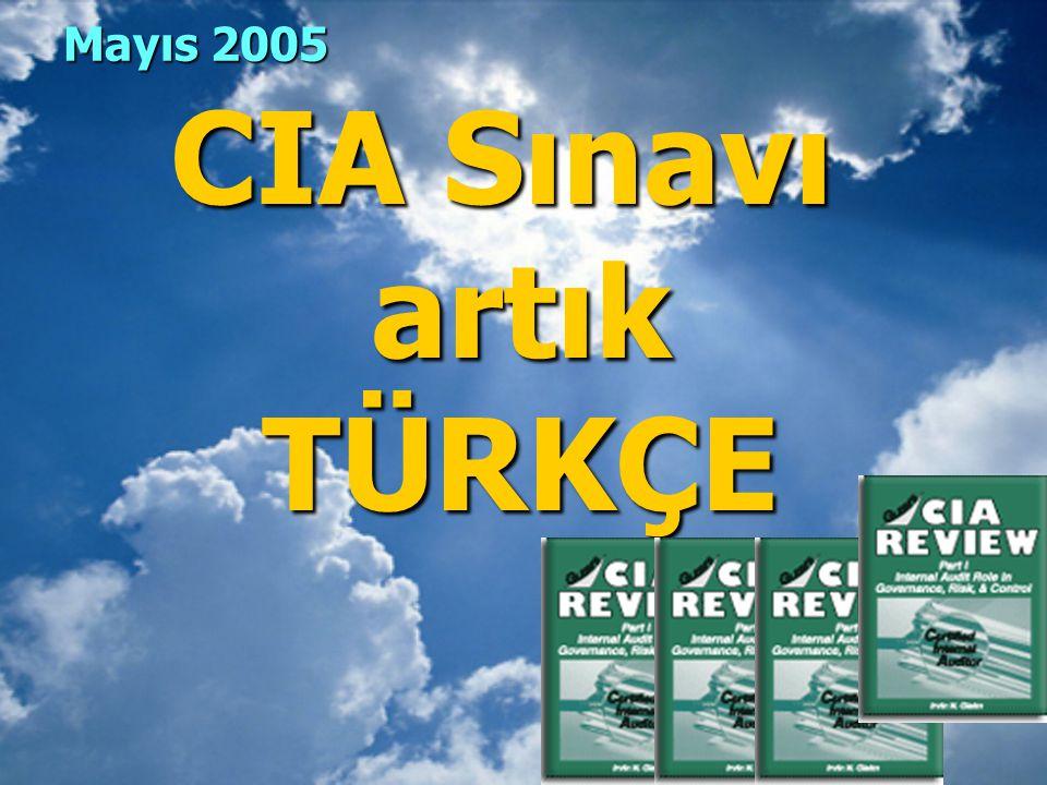 CIA Sınavı artık TÜRKÇE