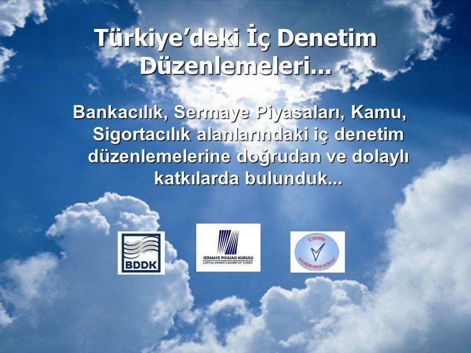 Türkiye'deki İç Denetim Düzenlemeleri...