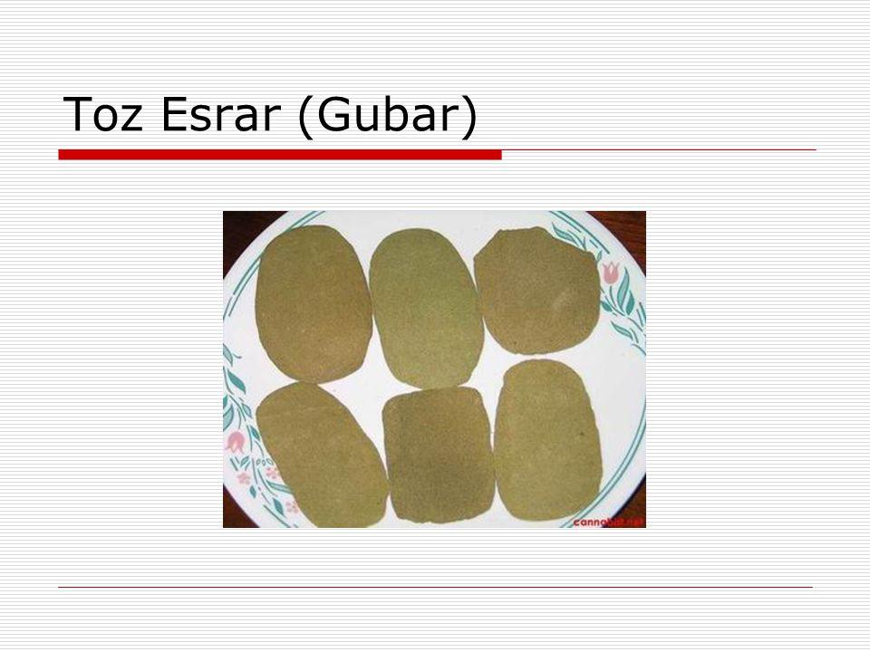 Toz Esrar (Gubar)