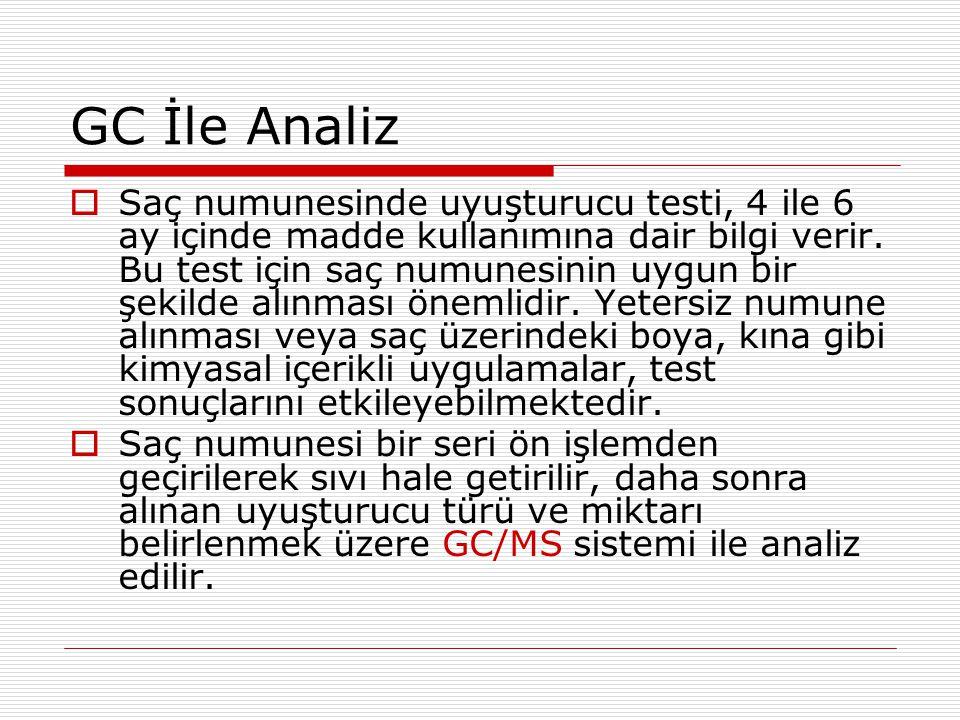 GC İle Analiz
