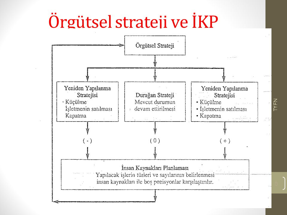 Örgütsel strateji ve İKP