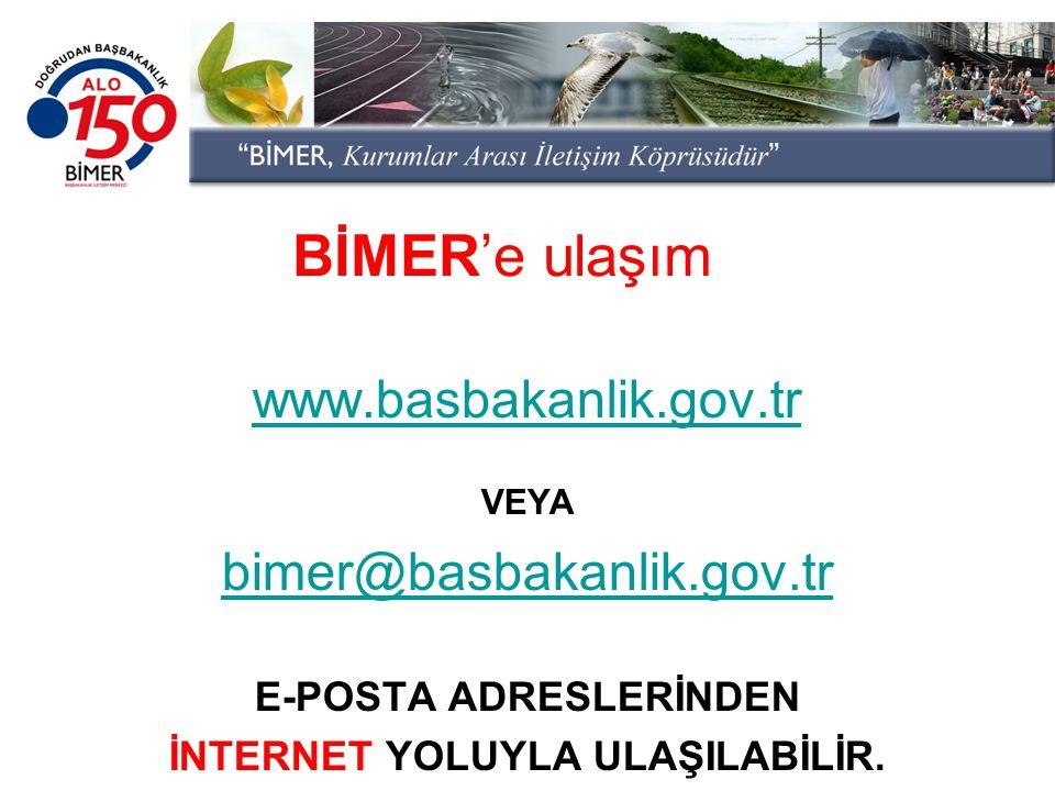 E-POSTA ADRESLERİNDEN İNTERNET YOLUYLA ULAŞILABİLİR.