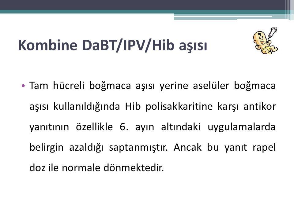 Kombine DaBT/IPV/Hib aşısı