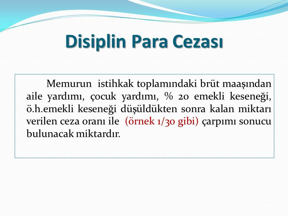 Disiplin Para Cezası