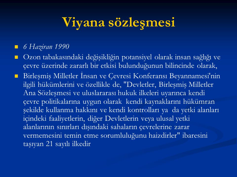 Viyana sözleşmesi 6 Haziran 1990