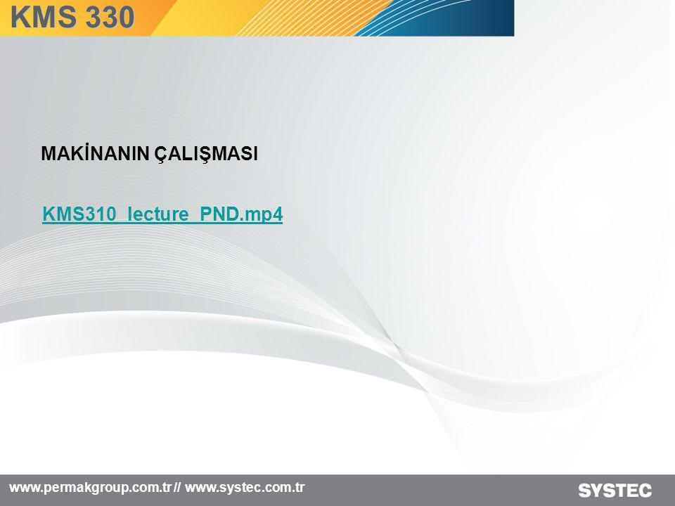 KMS 330 MAKİNANIN ÇALIŞMASI KMS310_lecture_PND.mp4