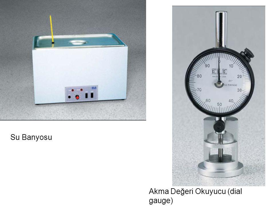 Su Banyosu Akma Değeri Okuyucu (dial gauge)