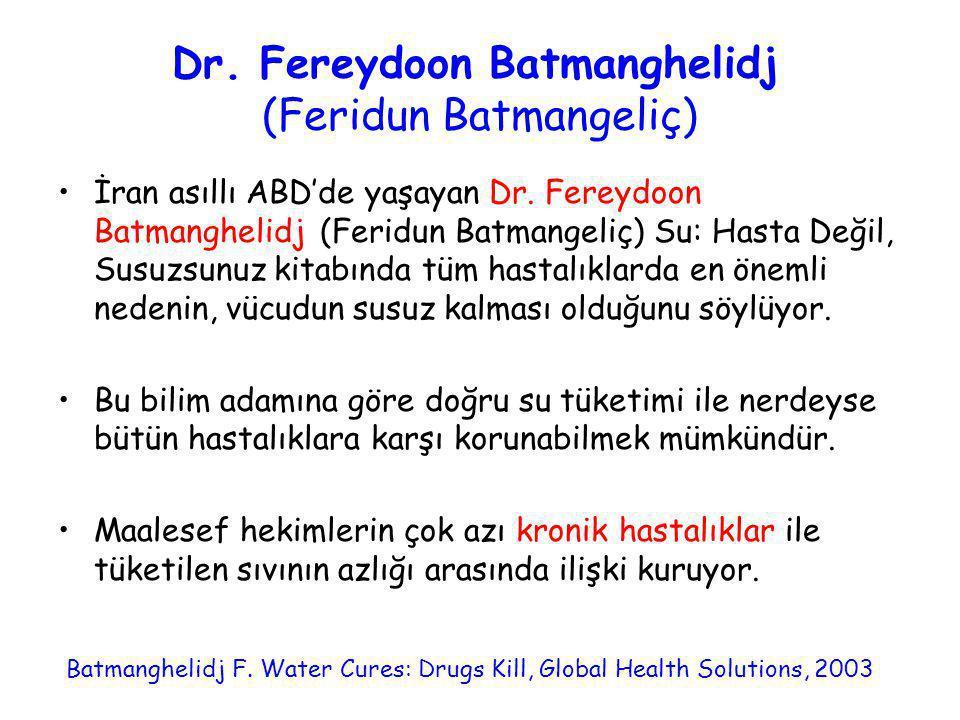 Dr. Fereydoon Batmanghelidj (Feridun Batmangeliç)