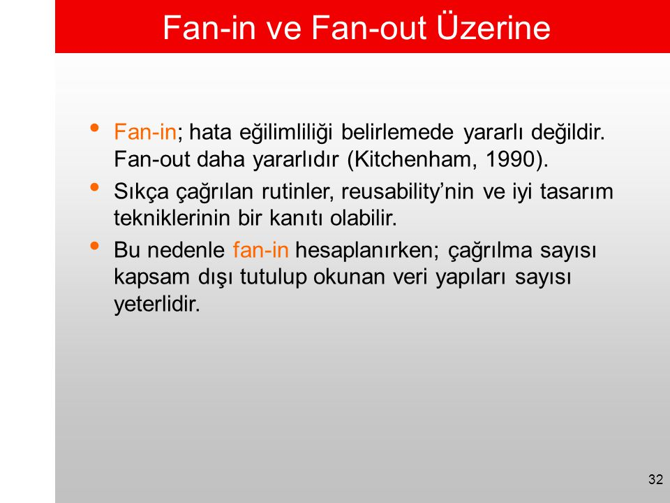 Fan-in ve Fan-out Üzerine