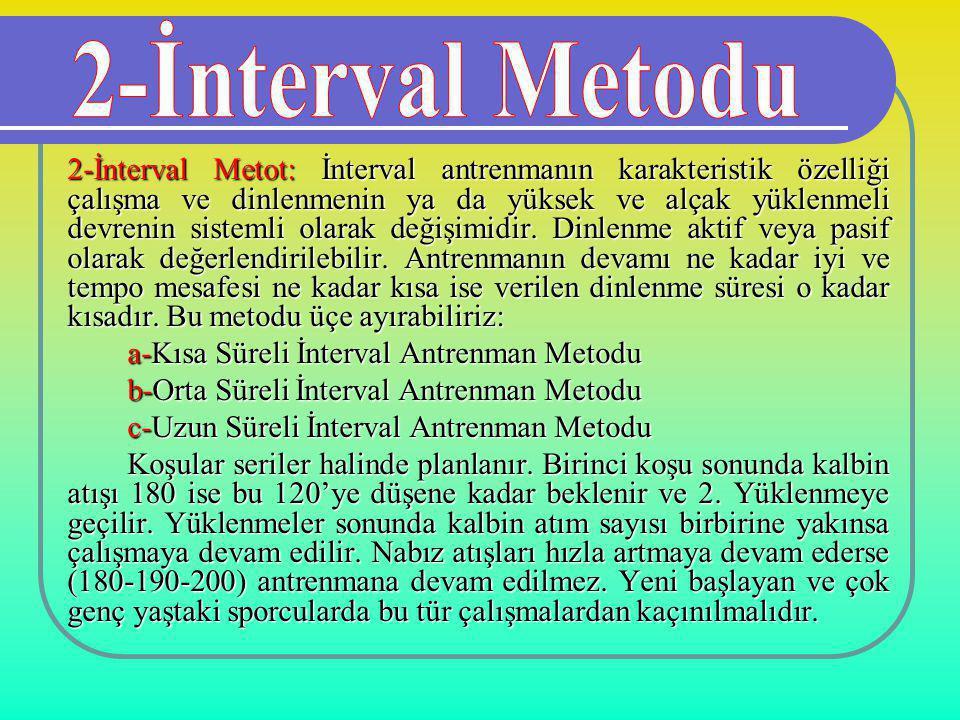 2-İnterval Metodu