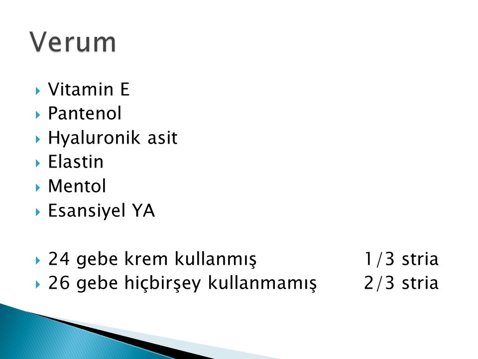 Verum Vitamin E Pantenol Hyaluronik asit Elastin Mentol Esansiyel YA