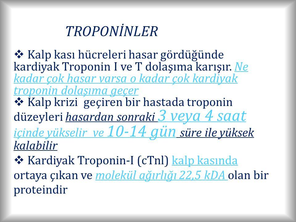 TROPONİNLER