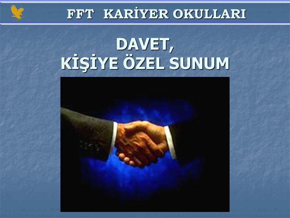 DAVET, KİŞİYE ÖZEL SUNUM