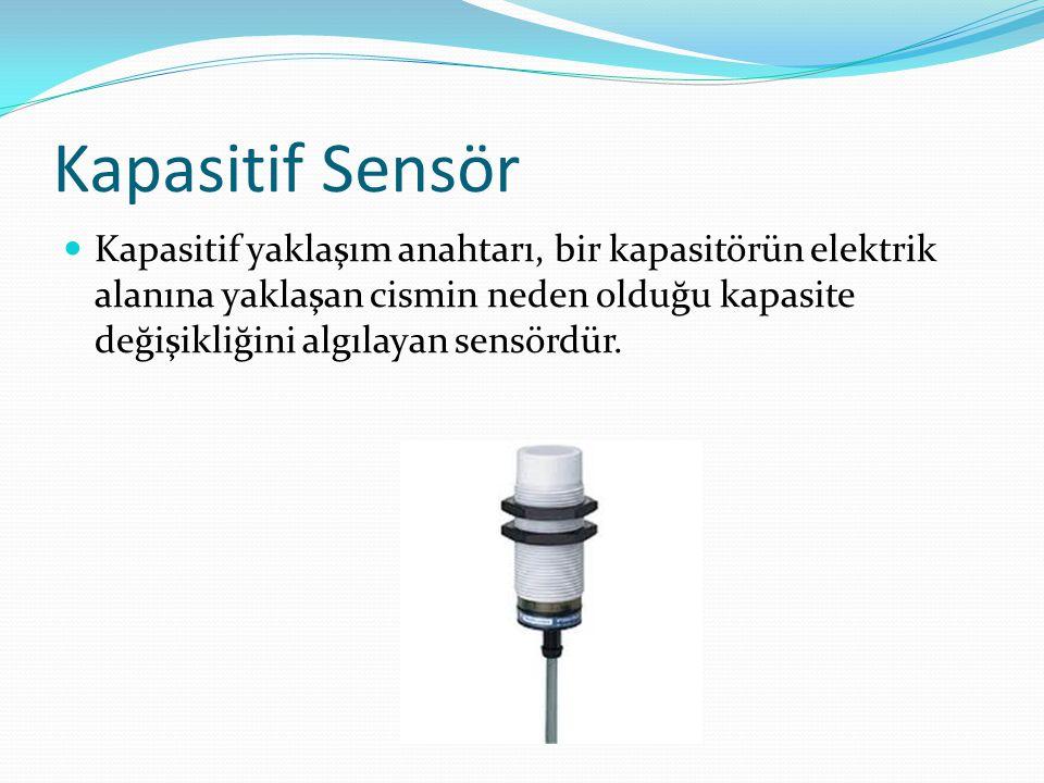 Kapasitif Sensör
