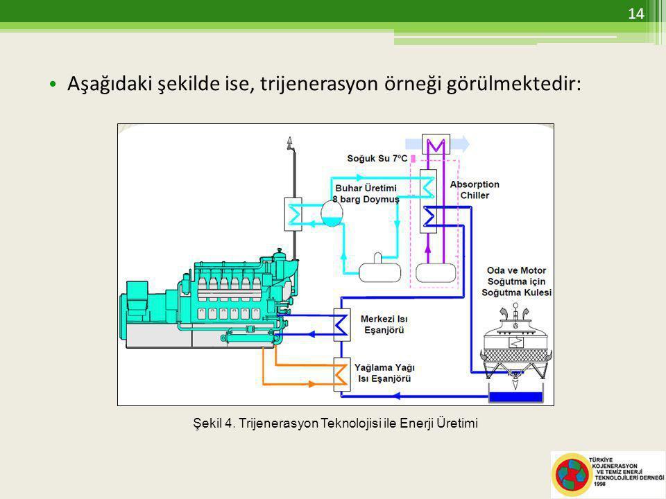 Aşağıdaki şekilde ise, trijenerasyon örneği görülmektedir: