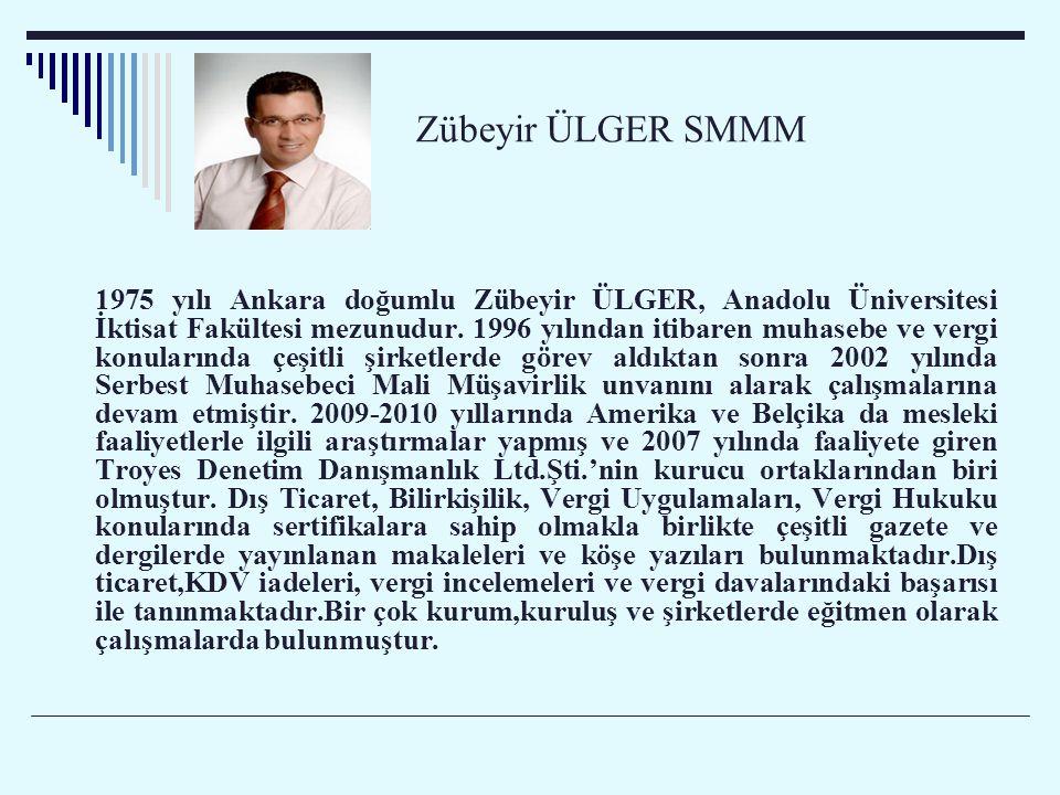 Zübeyir ÜLGER SMMM