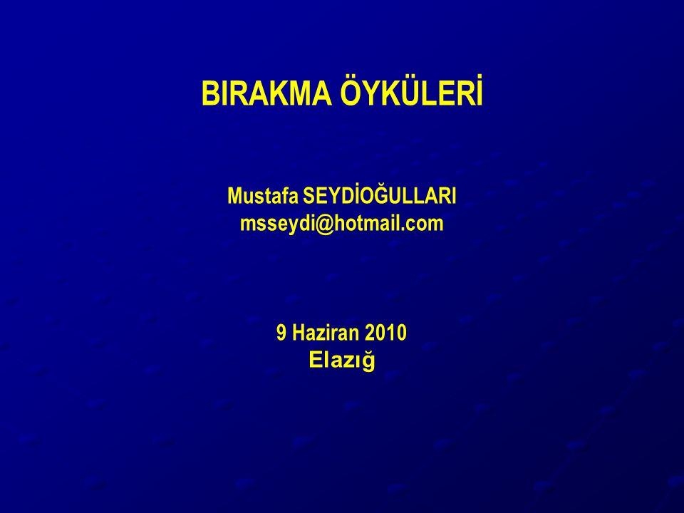 Mustafa SEYDİOĞULLARI