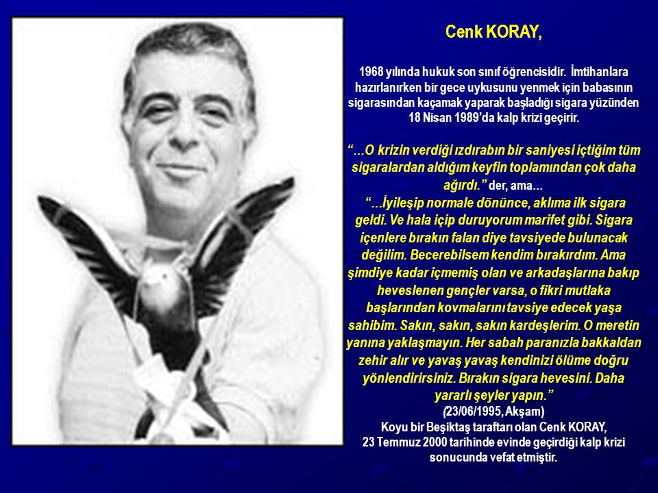 Cenk KORAY,