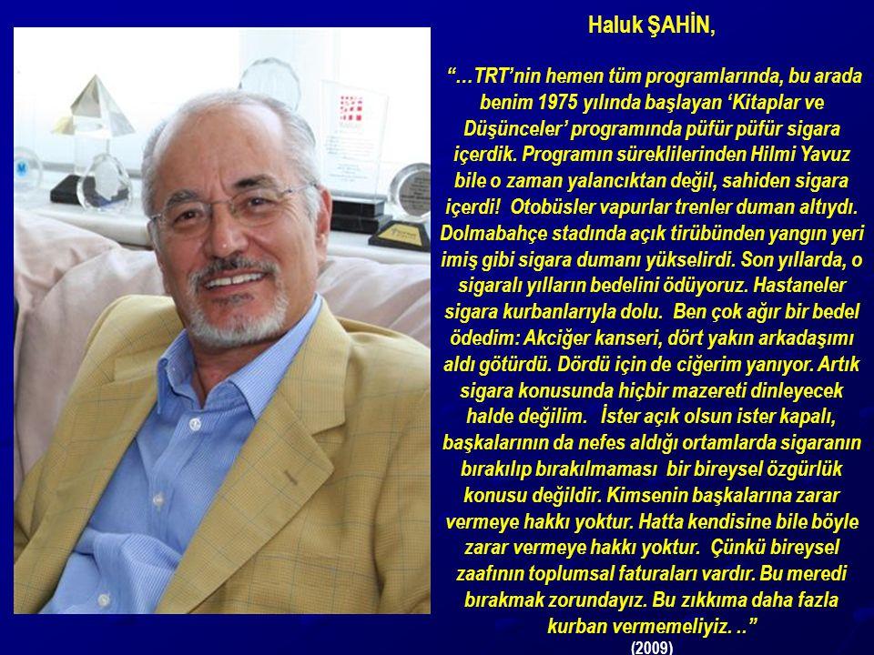 Haluk ŞAHİN,