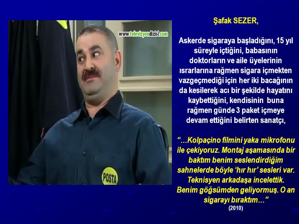Şafak SEZER,