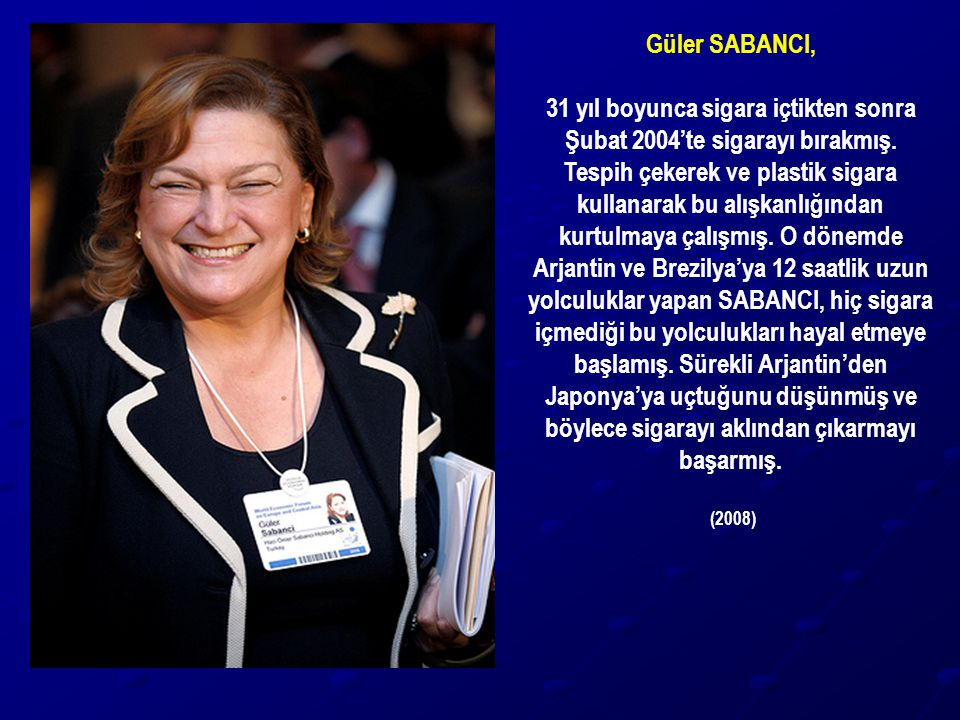 Güler SABANCI,