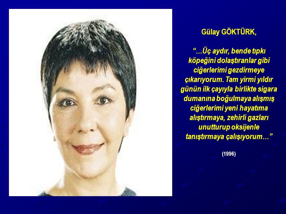 Gülay GÖKTÜRK,