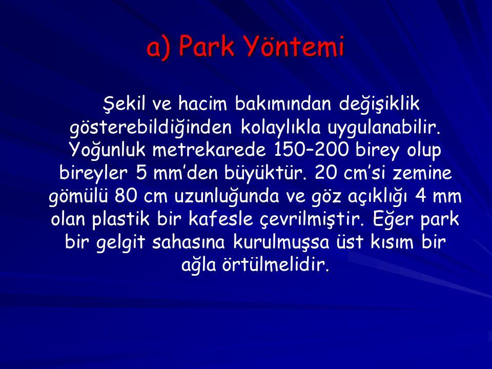 a) Park Yöntemi