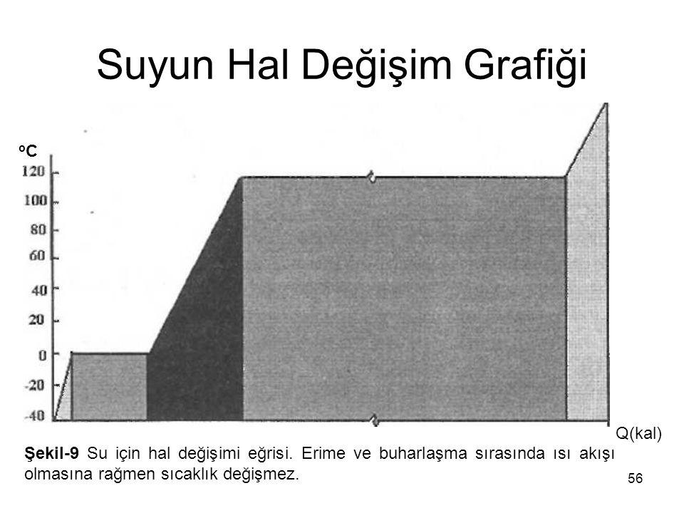 Suyun Hal Değişim Grafiği