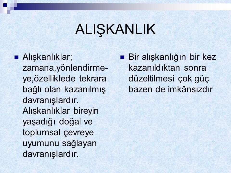 ALIŞKANLIK
