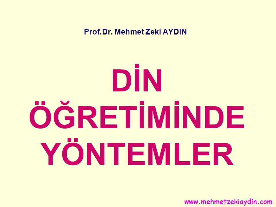 Prof.Dr. Mehmet Zeki AYDIN