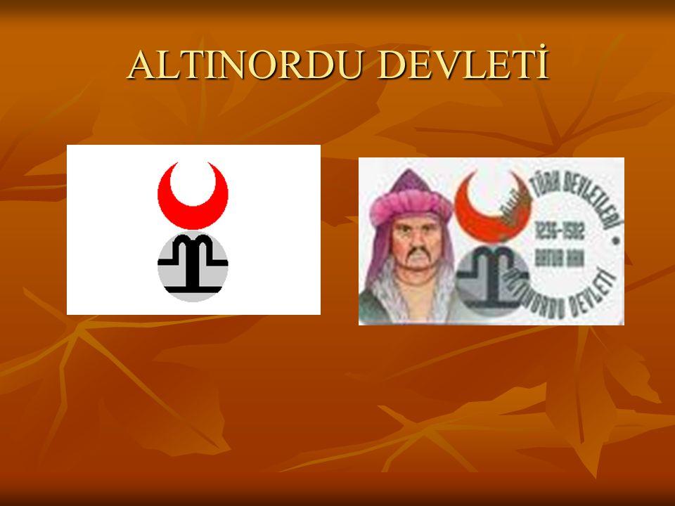 ALTINORDU DEVLETİ