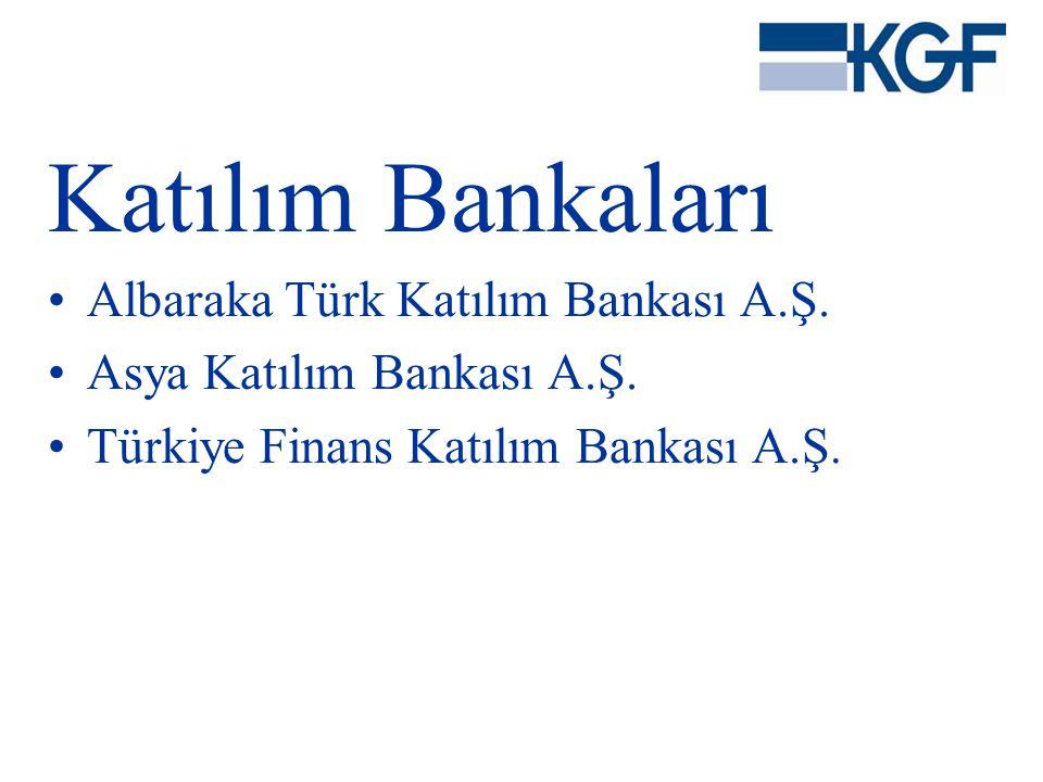 Katılım Bankaları Albaraka Türk Katılım Bankası A.Ş.
