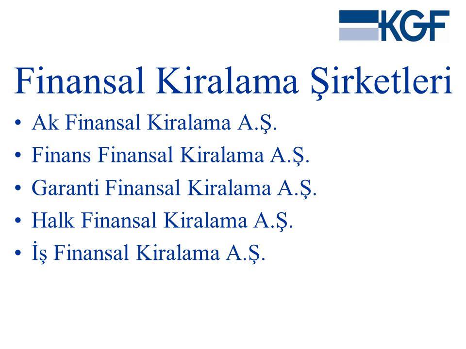 Finansal Kiralama Şirketleri