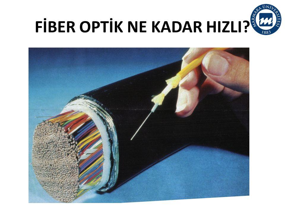 FİBER OPTİK NE KADAR HIZLI