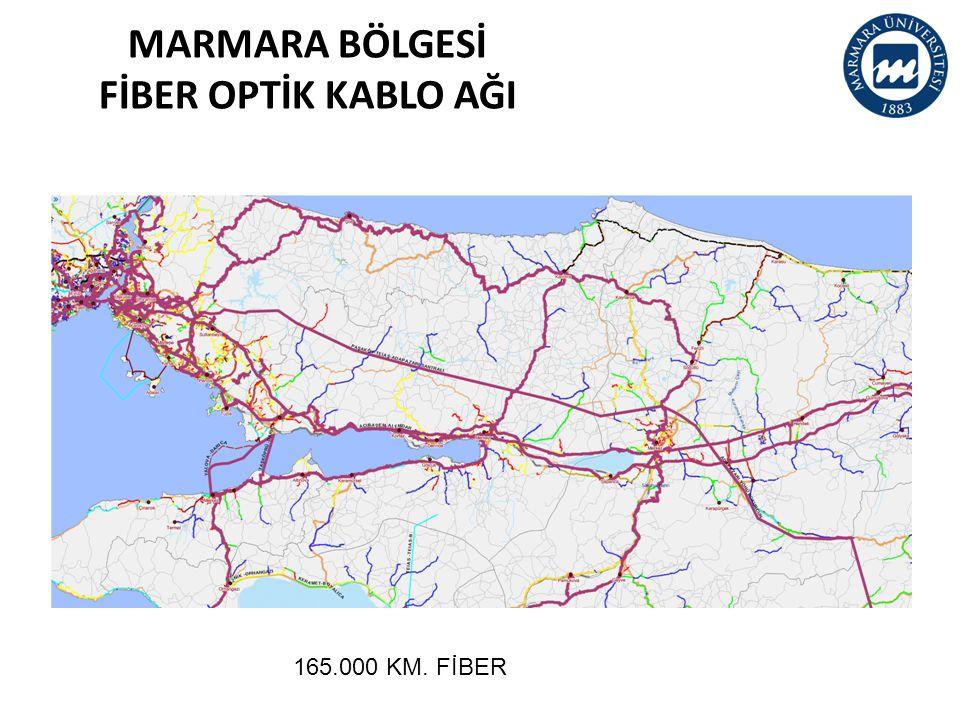 MARMARA BÖLGESİ FİBER OPTİK KABLO AĞI