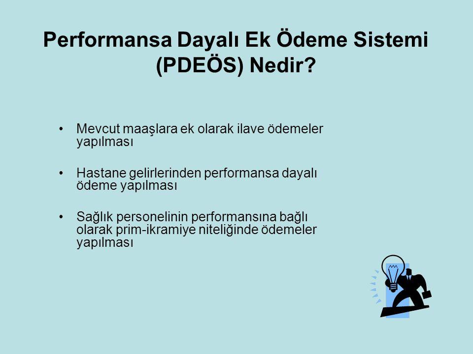 Performansa Dayalı Ek Ödeme Sistemi (PDEÖS) Nedir