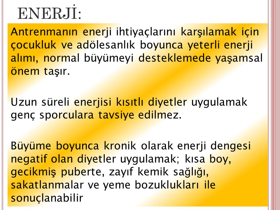 ENERJİ: