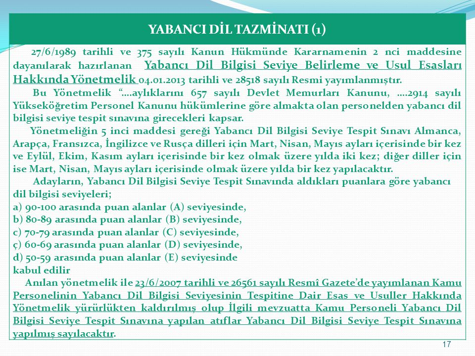 YABANCI DİL TAZMİNATI (1)