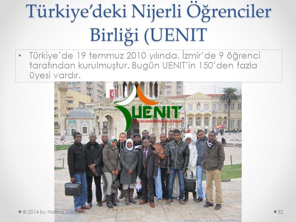 Türkiye'deki Nijerli Öğrenciler Birliği (UENIT