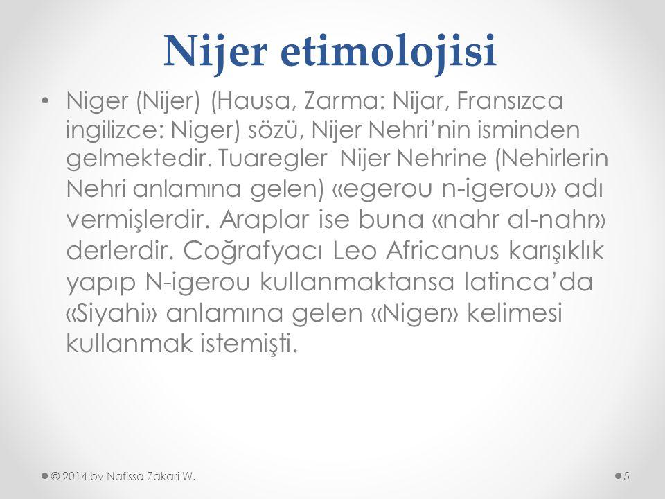 Nijer etimolojisi