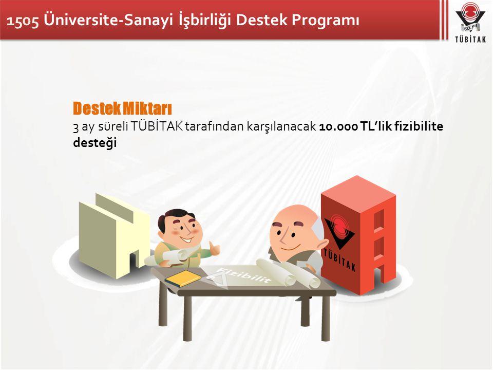 1505 Üniversite-Sanayi İşbirliği Destek Programı