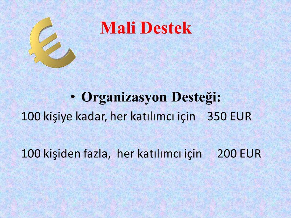 Organizasyon Desteği: