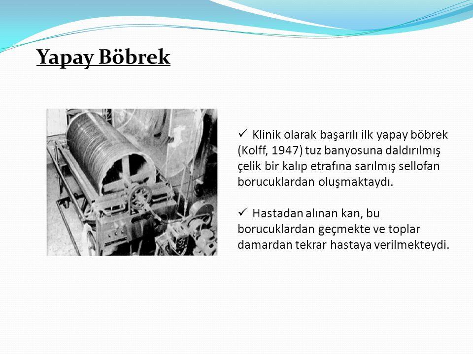 Yapay Böbrek Klinik olarak başarılı ilk yapay böbrek