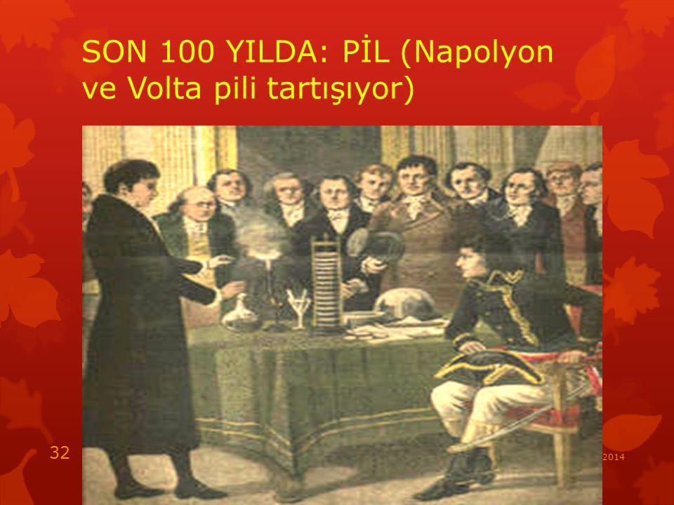 SON 100 YILDA: PİL (Napolyon ve Volta pili tartışıyor)