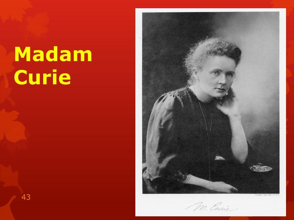 Madam Curie 15.05.2014