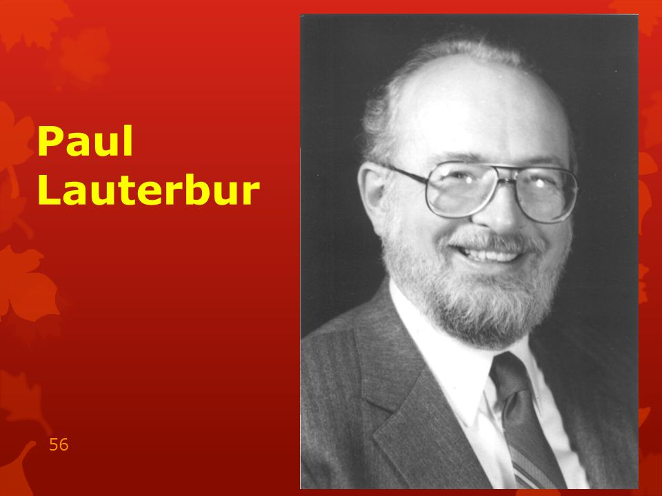 Paul Lauterbur 15.05.2014