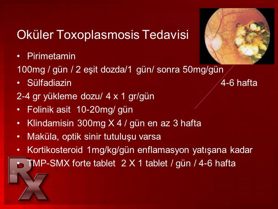 Oküler Toxoplasmosis Tedavisi